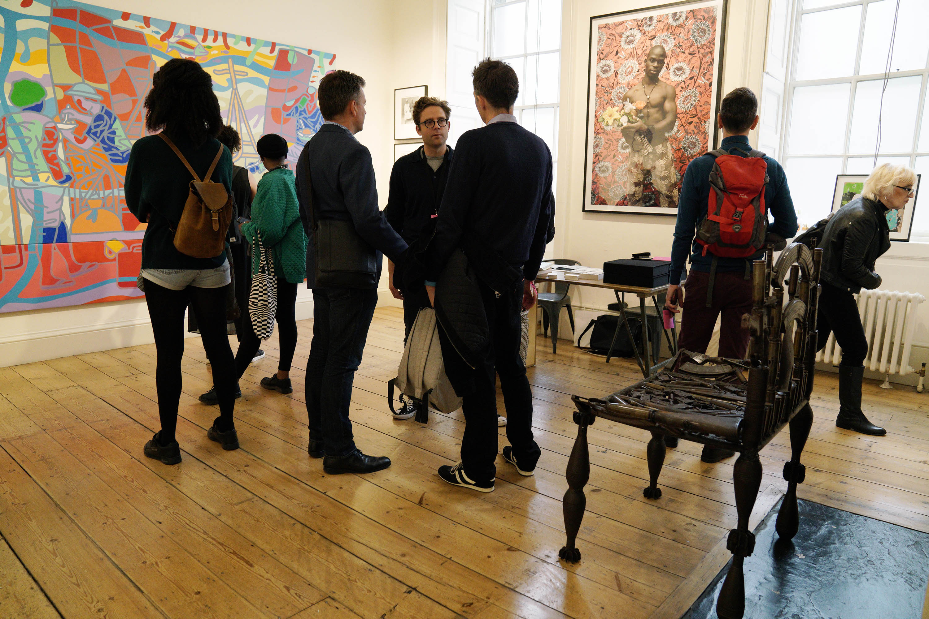 Jack Bell Gallery at 1:54 London 2017 @VictorRaison