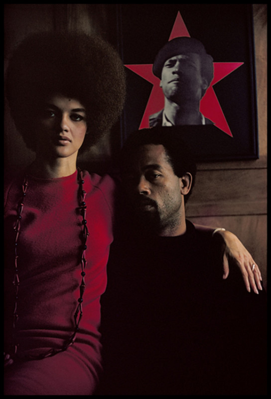 Gordon Parks, 'Eldridge Cleaver and His Wife Kathleen, Algiers, Algeria', 1970, Pigment print, edition of 15, 50.8 x 40.64 cm, Courtesy of the Gordon Parks, Foundation and Jenkins Johnson Gallery