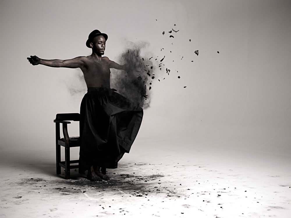 Mohau Modisakeng, 'Inzilo 1', 2013, Inkjet print on Epson Hot Press Natural paper, edition of 6, 112.5 x 150.2 cm, Courtesy of Tyburn Gallery