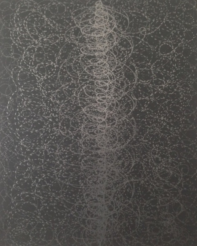 Yazid Oulab, 'Untitled', 2016, Graphite and oil on canvas, 100h x 81w cm, Unique, Selma Feriani Gallery