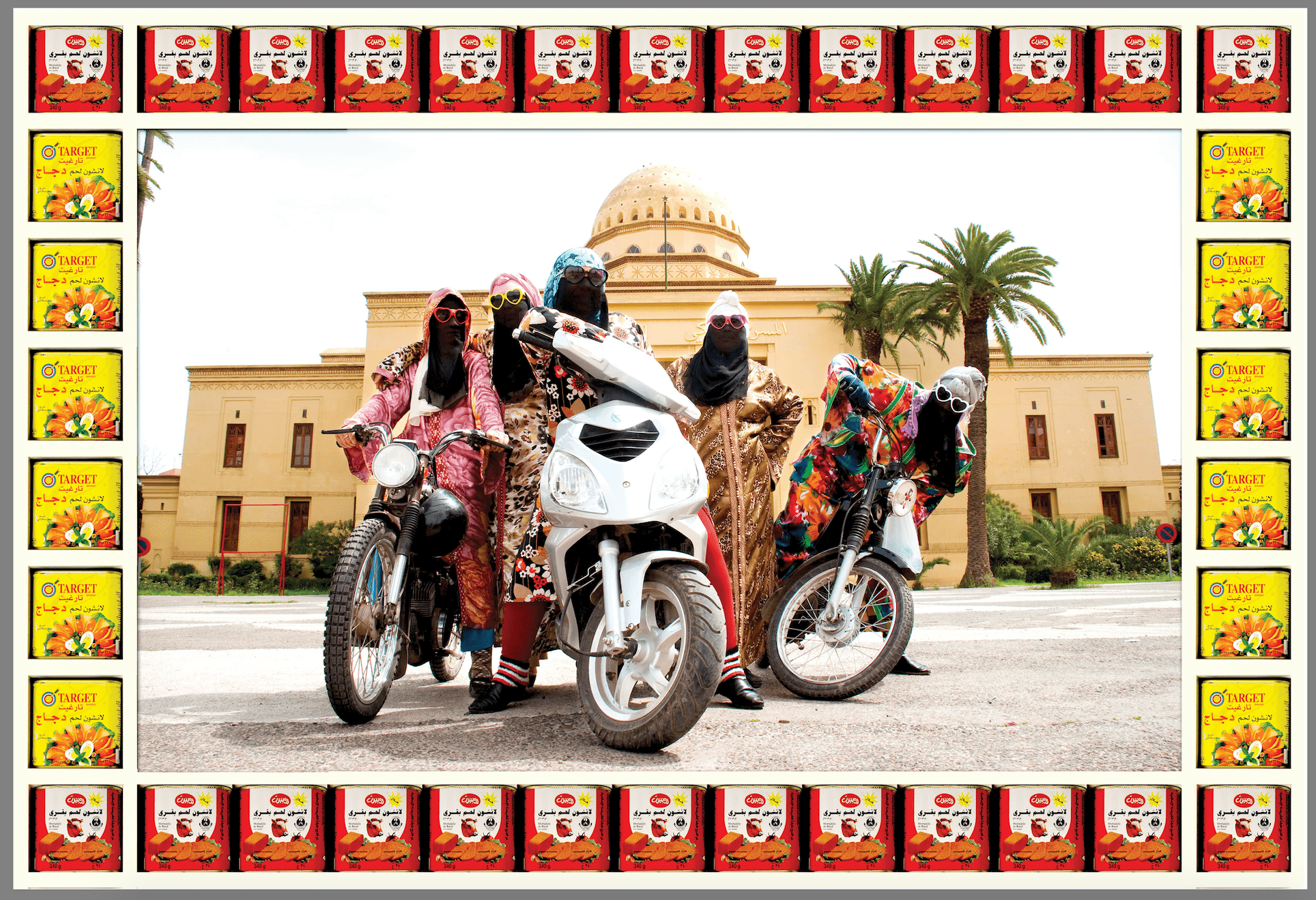 Hassan Hajjaj, Kesh Angels, 2010/1431, Photographic print. Courtesy the artist and Vigo Gallery