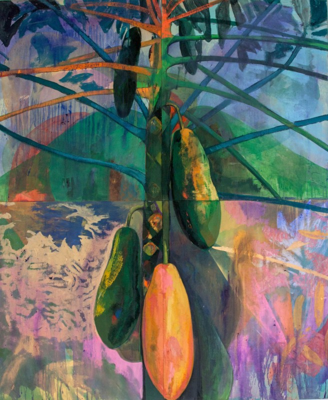 Che Lovelace, Tree with fruit, 2016